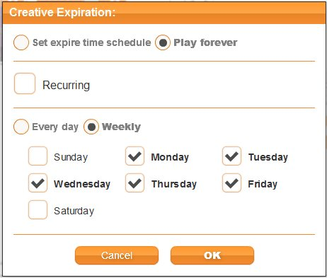 Scheduling by days