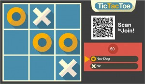 Digital Signage Tic-Tac-Toe