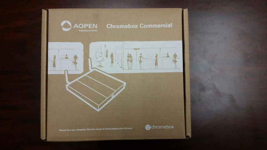 Unboxing AOpen Chromebox step 2