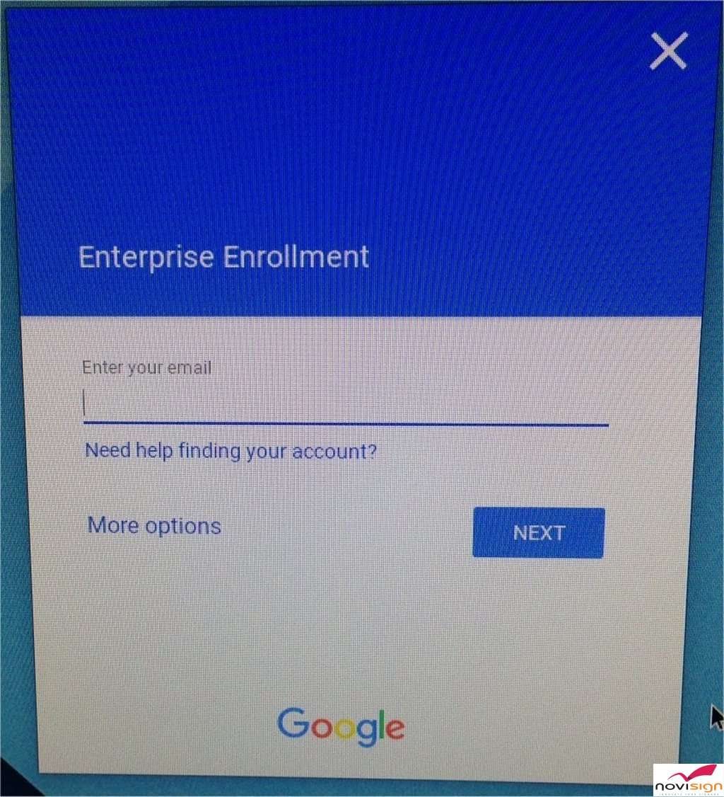 Chromebox Enterprise Enrollment