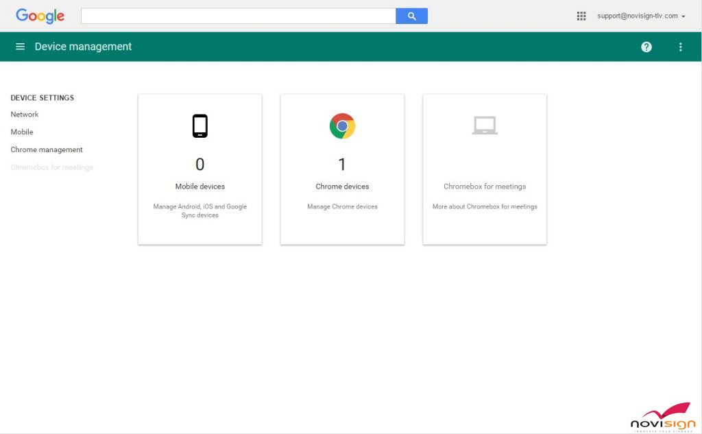 Google Device Management