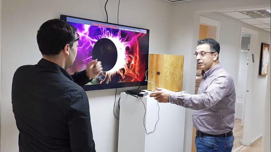 IoT sensor digital signage