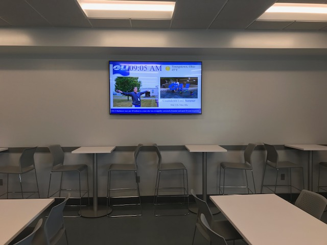 digital signage for internal communications