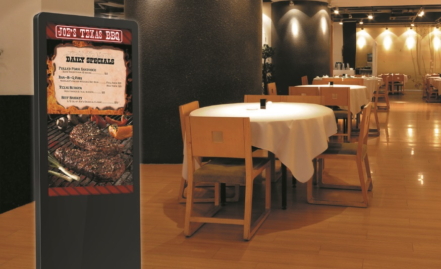 Digital kiosks for restaurants