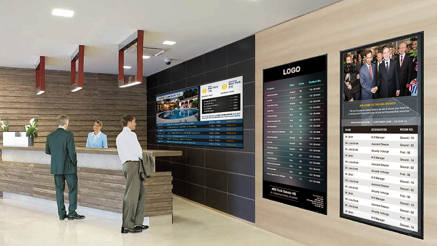 digital signage for hotels