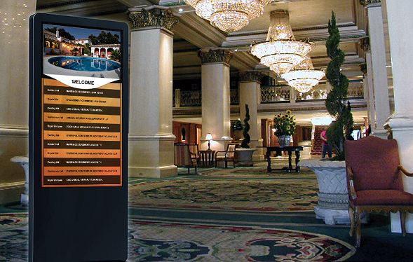 resort digital signage