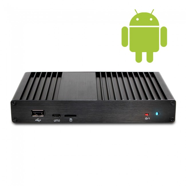 android digital signage media player