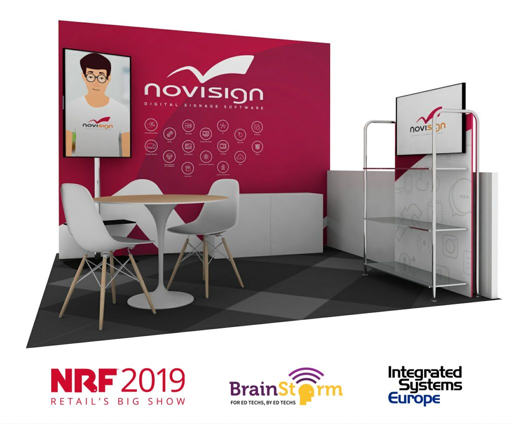 NoviSign 2019 Tradeshows
