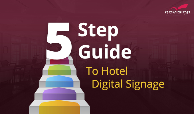 5 Steps Guide To Hotels Digital Signage