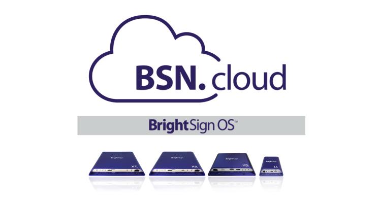 BrightSign BSN Cloud