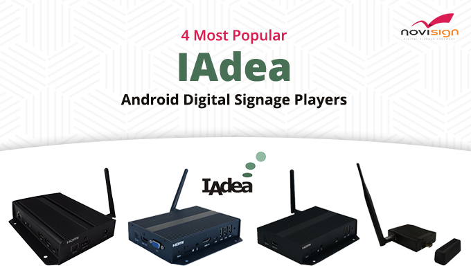 IAdea Android Digital Signage Players