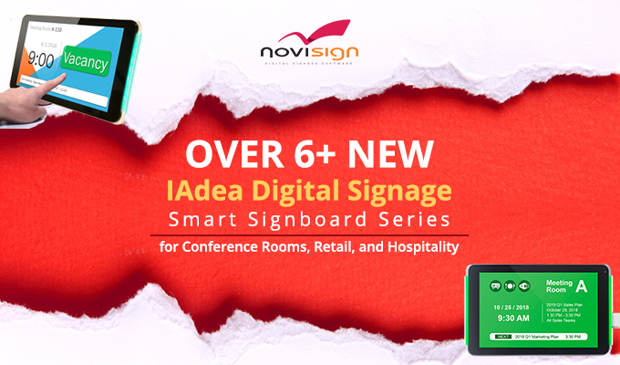 IAdea Smart Signboards