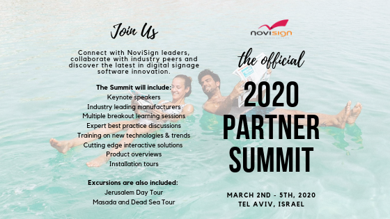2020 NoviSign Partner Summit