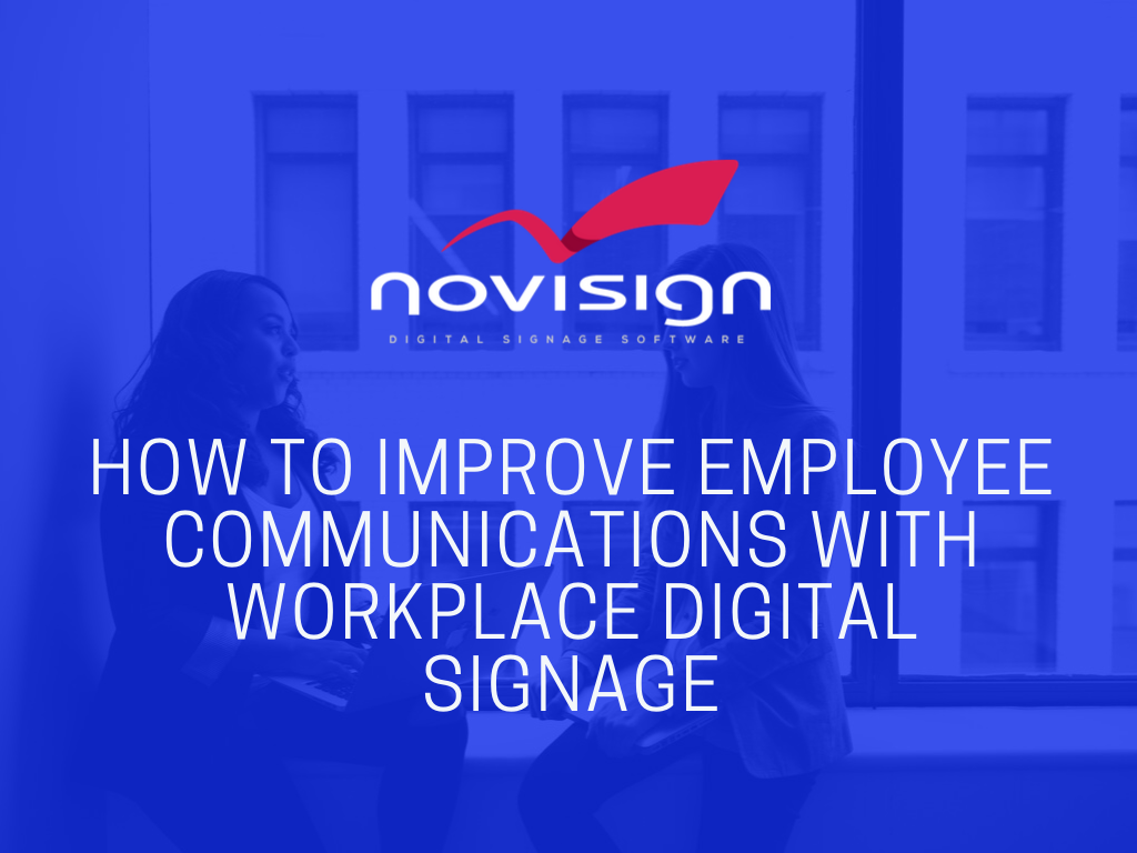 Workplace Digital Signage