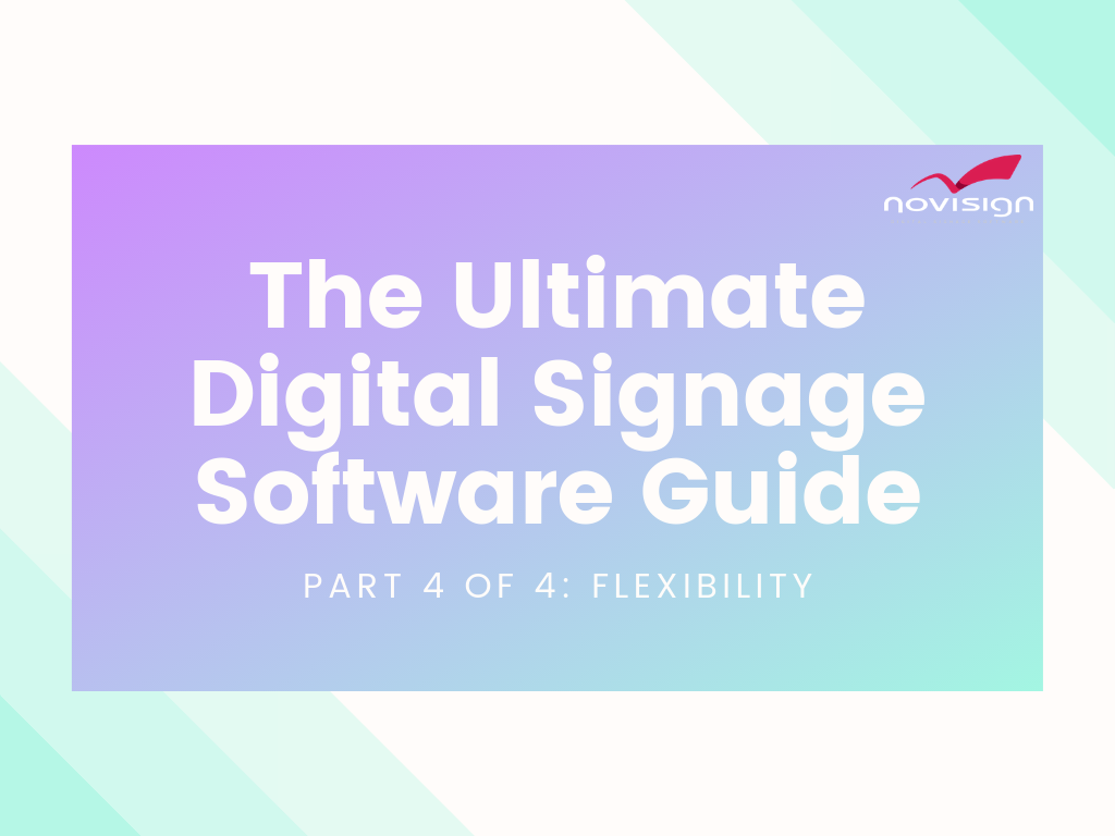 Digital Signage Software Guide
