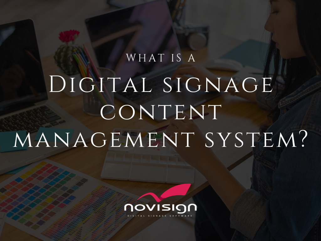 digital signage content management
