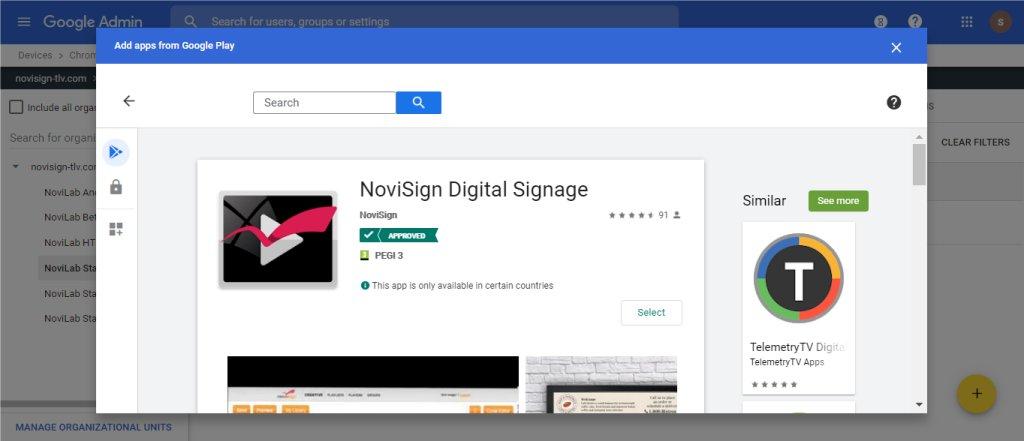 Kiosk app - Android