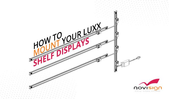 Mount Luxx shelf displays